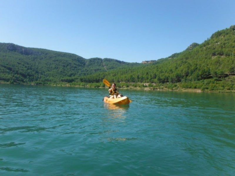 Kayak in the dam 3 with Somos Aventura in Castellón