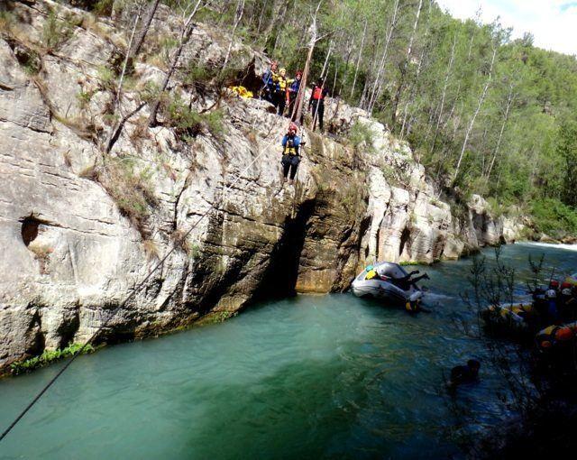 rafting-para-grupos-castellon