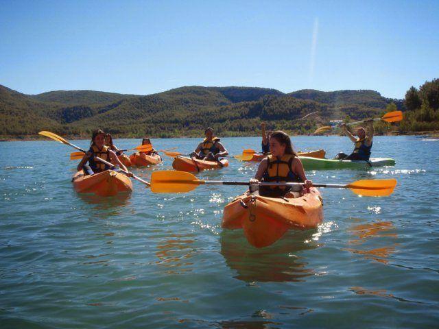 Kayak in the dam 5 with Somos Aventura in Castellón