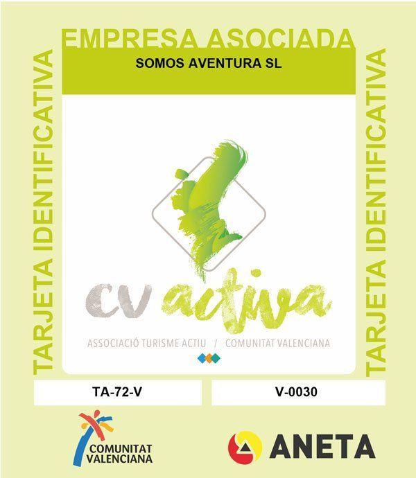 Tarjeta Identificativa CV ACtiva Somos Aventura